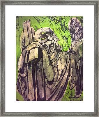Angel In Prayer Framed Print