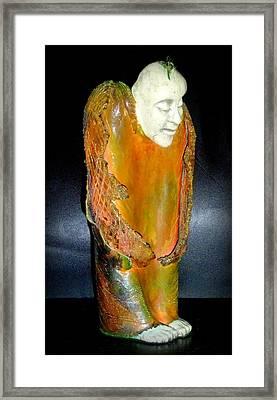 Angel In Waiting Framed Print by Satya Winkelman