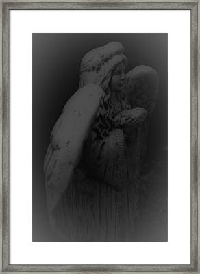 Angel Framed Print by Jennifer Burley