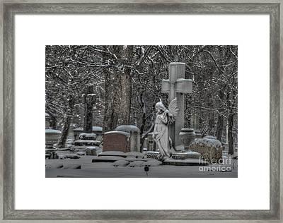 Angel Framed Print by Jim Wright