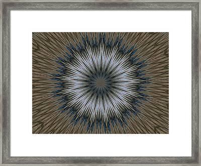 Angel Kaleidoscope Two Framed Print
