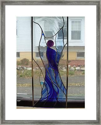Angel  Framed Print by Karin Thue