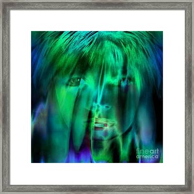 Angel Kiss Framed Print