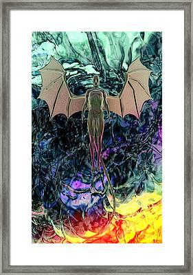 Angel Framed Print by Matt Lindley