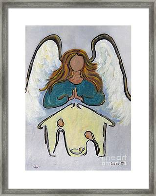 Angel - Messenger Of Joy Framed Print