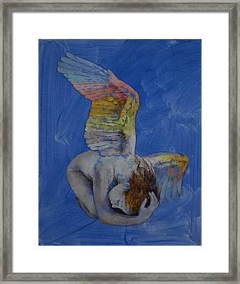Angel Framed Print by Michael Creese