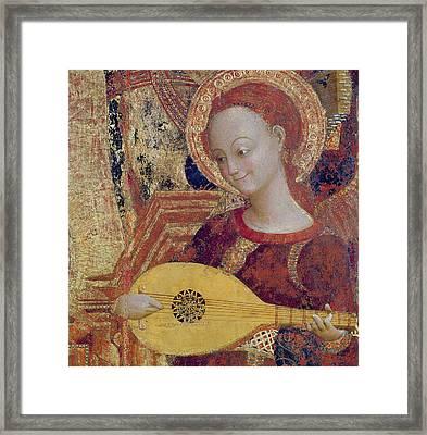 Angel Musician Framed Print