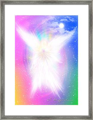 Angel Of Concord Framed Print by Anderson Stoffelshaus