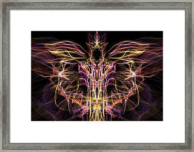 Angel Of Death Framed Print