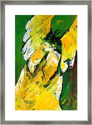 Angel Of Delight Framed Print by Patricia Brintle