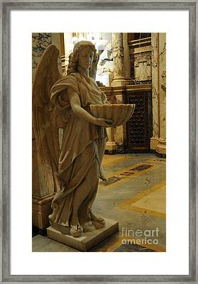 Angel Of Grace Framed Print by Kathleen Struckle