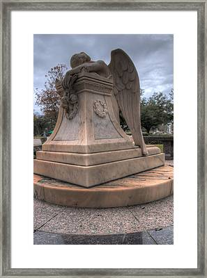 Angel Of Grief Houston 1 Framed Print