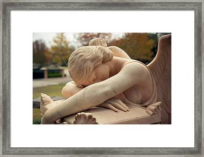 Angel Of Grief Houston 2 Framed Print