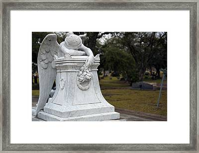 Angel Of Grief Houston 3 Framed Print