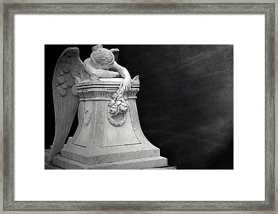 Angel Of Grief Houston 4 Framed Print