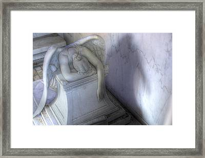 Angel Of Grief New Orleans 3 Framed Print