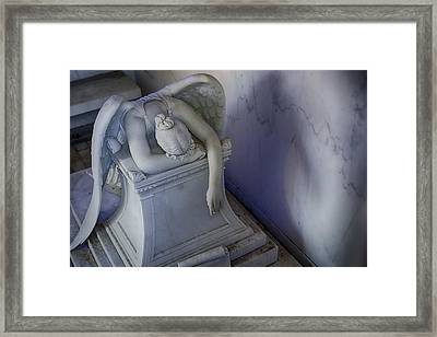 Angel Of Grief New Orleans 4 Framed Print