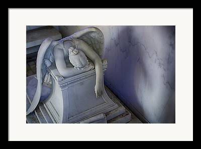 Metairie Cemetery Framed Prints