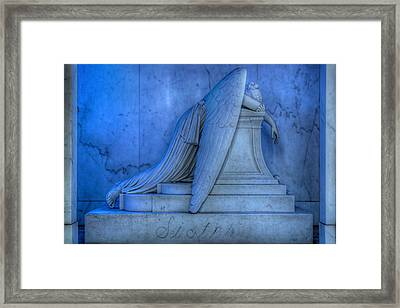 Angel Of Grief New Orleans 5 Framed Print