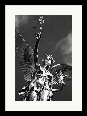 Nike Of Paeonius Framed Prints