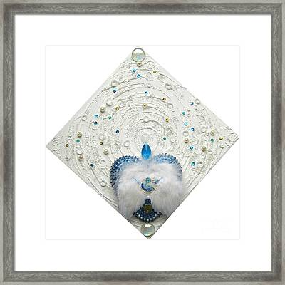 Angel Of Purity And Power Framed Print