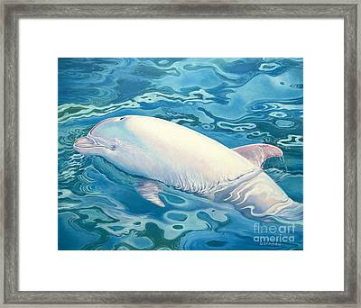 Angel Of Taiji Framed Print by Catherine Garneau