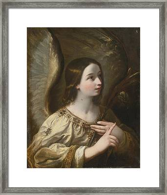 Angel Of The Annunciation Framed Print by Celestial Images