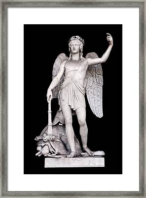 Angel Of The Arts Framed Print by Fabrizio Troiani