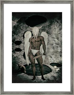 Danse Macabre Angel Framed Print