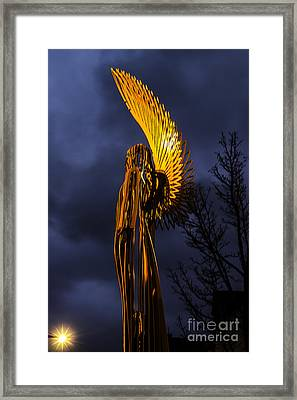 Angel Of The Morning Framed Print