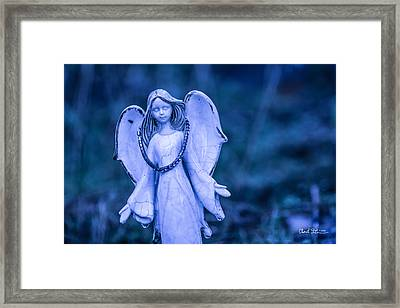 Angel Of The Rain Framed Print by Charlie Duncan