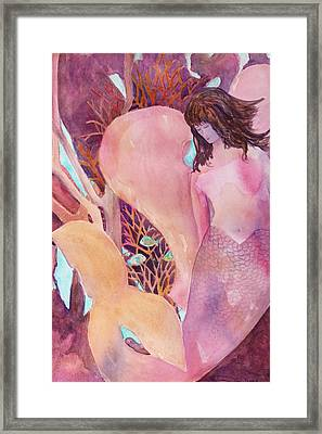 Angel Of The Sea Framed Print by Teri  Jones