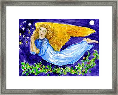 Angel Of The Skies Framed Print