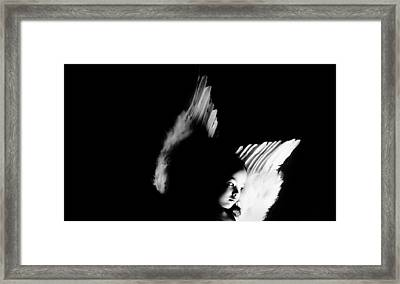 Framed Print featuring the photograph Angel Of Thought  by Jessica Shelton