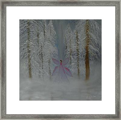 Angel Of Winters Past Framed Print