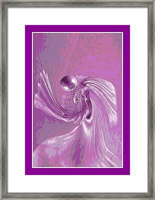 Angel Prayer Framed Print