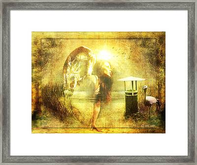 Angel Spirit Framed Print