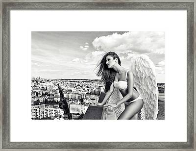 Angel Framed Print by Stefan Amer