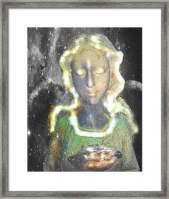 Angel Framed Print by Terry Atkins