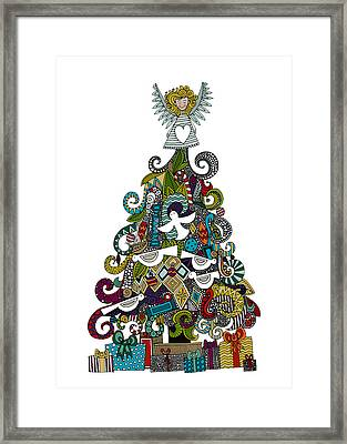 Angel Tree Framed Print by Sharon Turner