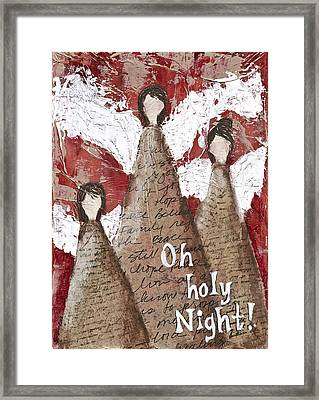 Angel Trio Framed Print