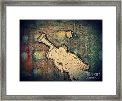 Angel Trumpeter Framed Print by Sarah Loft