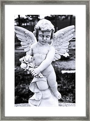 Angel Wings Framed Print by John Rizzuto