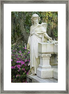 Angel With A Broken Wing Framed Print by Bradford Martin