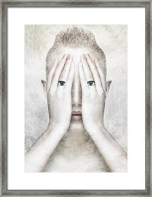 Angel Framed Print by Yosi Cupano