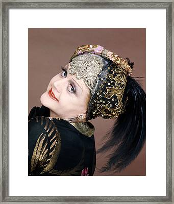 Angela Lansbury In Death On The Nile  Framed Print by Silver Screen