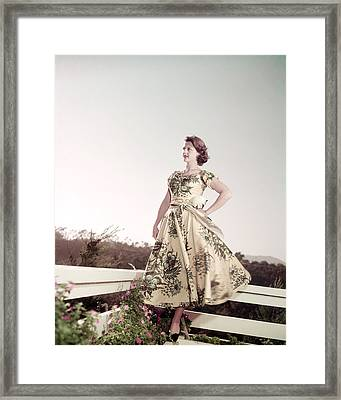 Angela Lansbury Framed Print by Silver Screen