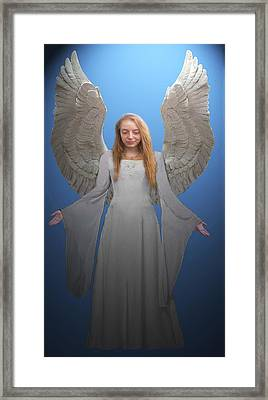 Angelic Angel Framed Print by Eric Kempson