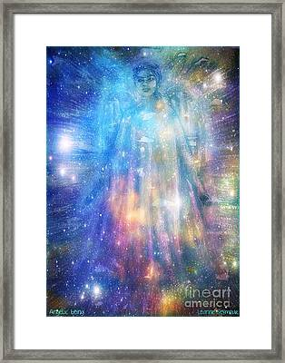 Angelic Being Framed Print