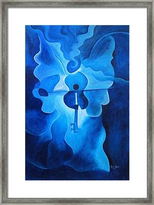 Angelic Concerto Framed Print by Patricia Brintle